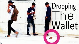 dropping the wallet in public place  || social experiment video