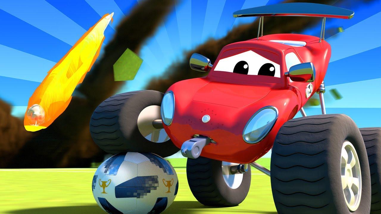 Especial FIFA COPA DO MUNDO - Meteoritos no campo de futebol -  Desenhos Animados 🚗