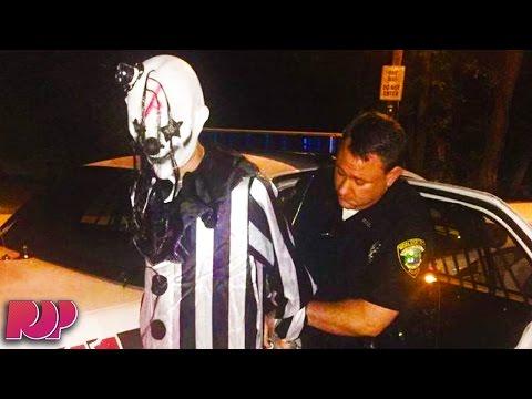 Police Arrest Creepy Clown Found Lurking In Kentucky Woods