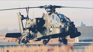 U.S.Army Apache Helicopter In Action 2018