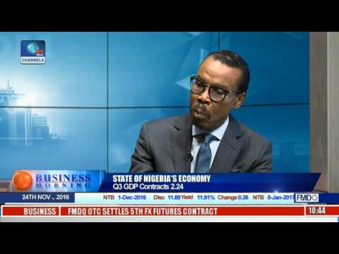 Business Morning: State Of Nigeria's Economy With Economist Pt.1