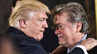 Steve Bannon and Donald Trump