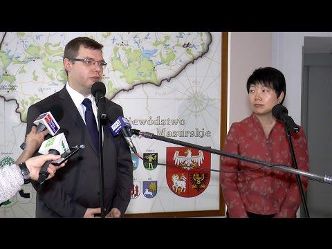 Wizyta konsul generalnej Chińskiej Republiki Ludowej Zhao Xiuzhen w Olsztynie