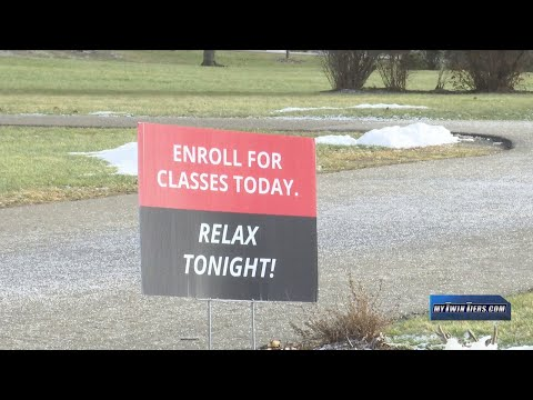 Corning Community College cuts classes without union