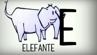 El abecedario español para niños, canción infantil