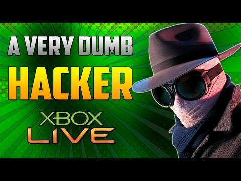 VERY DUMB HACKER EXPOSED ON XBOX LIVE! (COD GHOSTS)
