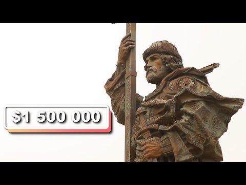 ТОП-5 дорогих памятников Москвы || Культ//Туризм