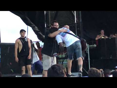 Every Time I Die - Map Change (Last Song Ever On Vans Warped Tour) West Palm Beach, August 5, 2018