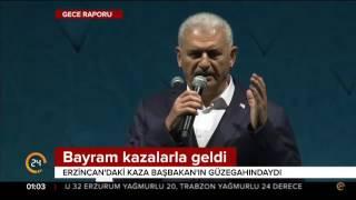 Başbakan Yıldırım ın güzergahında trafik kazası 5 kişi hayatını kaybetti