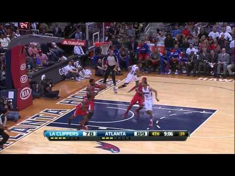 Eric Bledsoe blocks Willie Green's dunk attempt