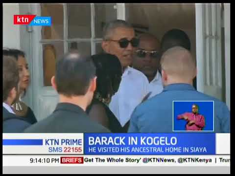 Obama completes two-day visit to Kenya, unveils Sauti Kuu Foundation