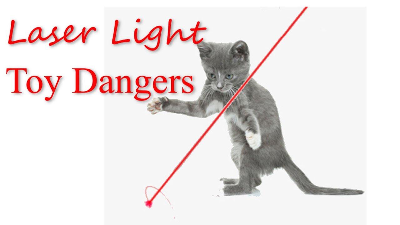 Superb Laser Light Toy Dangers   YouTube
