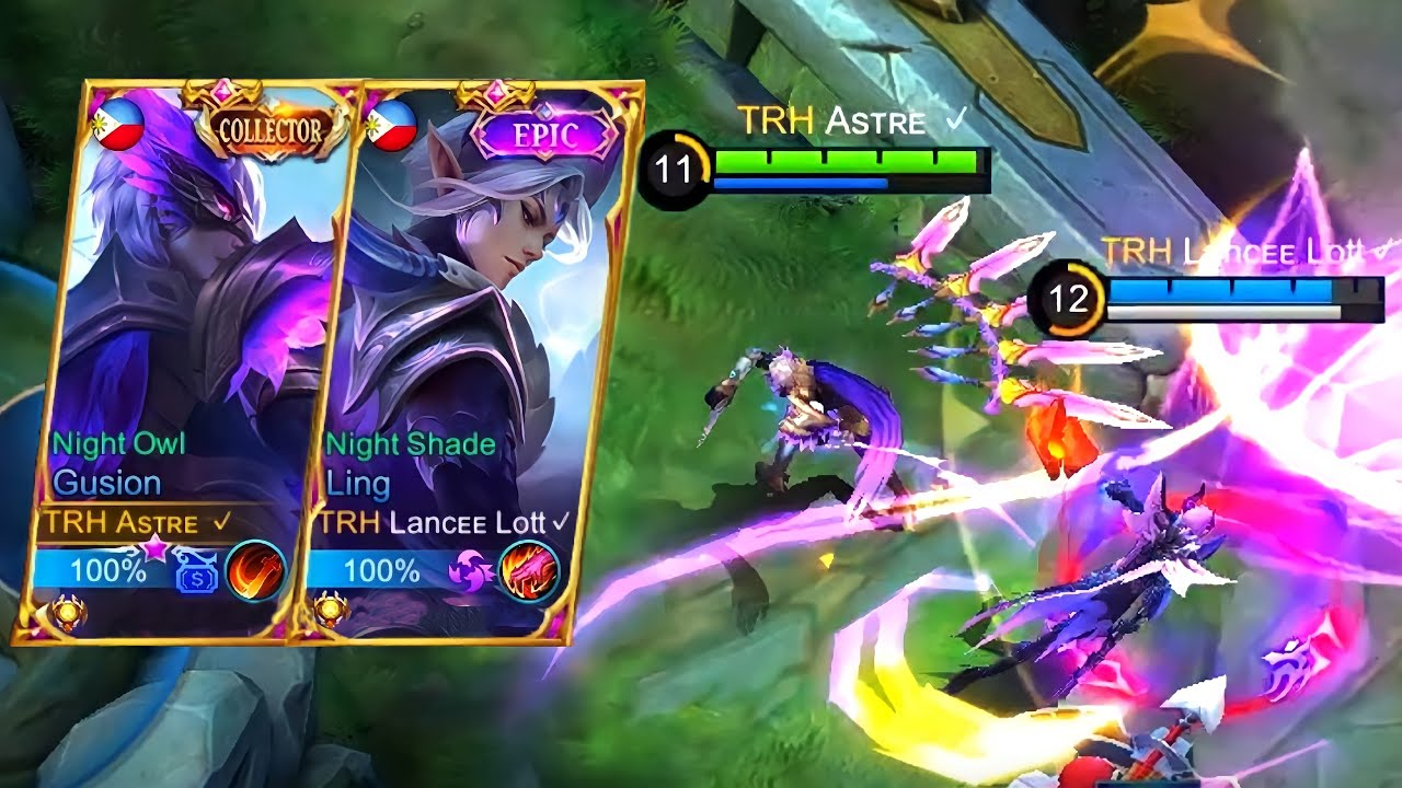 GUSION OFFLANE WITH LANCEELOTT! 💜