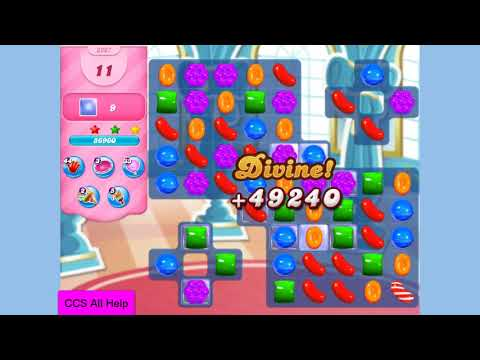 Candy Crush Saga Level 3267 NO BOOSTERS Cookie