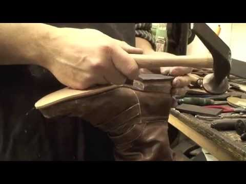Heel Base build up with Rubber Half Soles