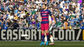 FIFA 16 Gameplay 1080p (60 fps) El Clasico FC Barcelona vs Real Madrid