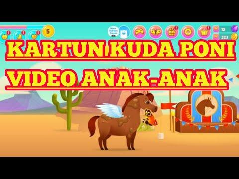 Video Kartun Anak Anak Kuda Poni Kartun Hitam Putih 76 Youtube