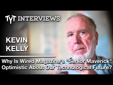 """Riding the Edge"" Of Technological Change: Cenk Uygur Interview w/ Wired Founder Kevin Kelly"