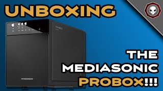 MediaSonic ProBox - Unboxing and First Impressions!!!