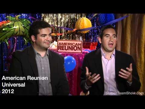 Jon Hurwitz & Hayden Schlossberg HD Interview - American Reunion
