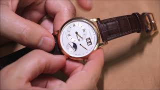 Gambar cover A. Lange & Sohne Lange 1 Moon Phase Watch Review | aBlogtoWatch