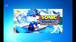 """Меняем управление в игре """"Sonic And All-Stars Racing Transformed"""""""