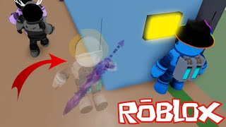 Amongst Us! 🔪 in Roblox - Invisible Imposter Vs Noob