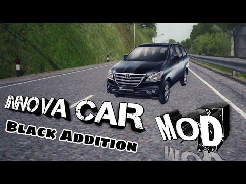 Toyota Innova Kijang(Black) Car Mod For Bus Simulator Indonesia|Innova  Indian Car Mod For Bussid|