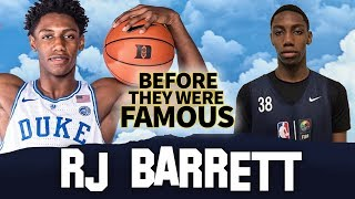 RJ Barrett   Before They Were Famous   NCAA March Madness 2019