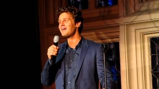 "Jonathan Groff Singing ""I Got Lost in His Arms"" from Annie Get Your Gun Live at The Cabaret"