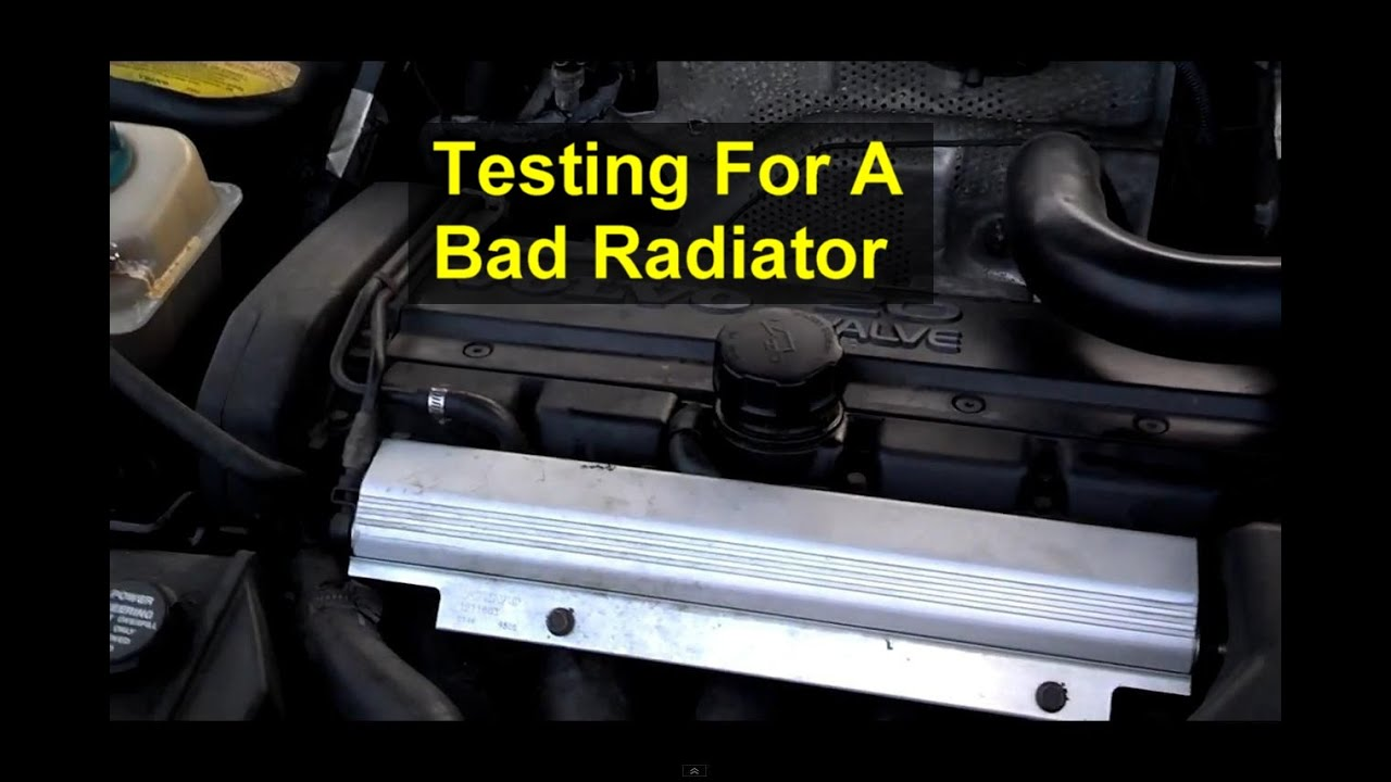 How To Determine If Your Radiator Is Bad Leaking Or