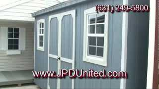 Shed Video 6 -- The Gable Shed -- Farmingdale New York (ny) Jpd United