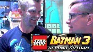 Lego Batman 3 Director Interview - Wii U, Xbox, Playstation, Vita, 3ds