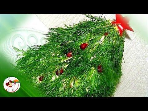 Салат «НОВОГОДНЯЯ ЕЛКА» - поразительное новогоднее блюдо!