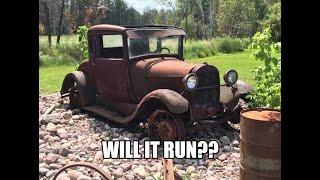 I Bought a Yard Art 1928 Model A Coupe! Will It Run??