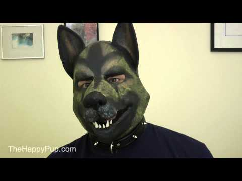 Different Human Pup Play Hoods & Masks