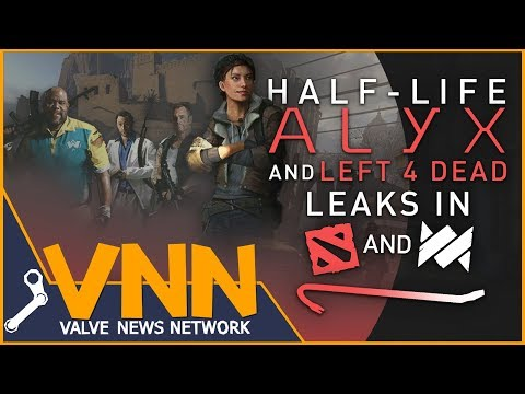 HalfLife: Alyx & Left 4 Dead Leaks Found in SteamVR