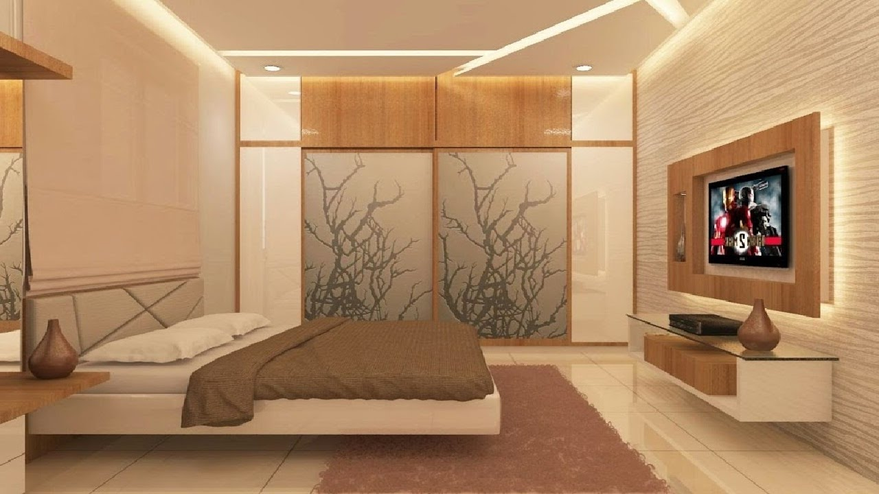 25 latest bedroom cupboard design new bedroom wardrobe for Bedroom designs with tv and wardrobe