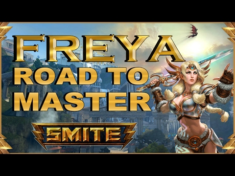SMITE! Freya, Esto sigue rotisimo! Road To Master Conquest S4 #6