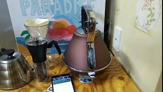 [모피리처드] 이보크 전기포트, 급속가열 3분미만 물끓…