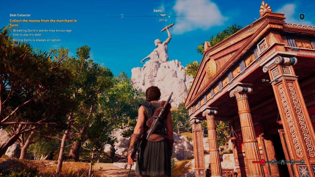 Steam Community Video Ascending The Zeus Statue Assassin S