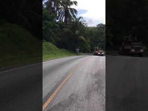 Heavy Trailer Accident in Dominican Republic