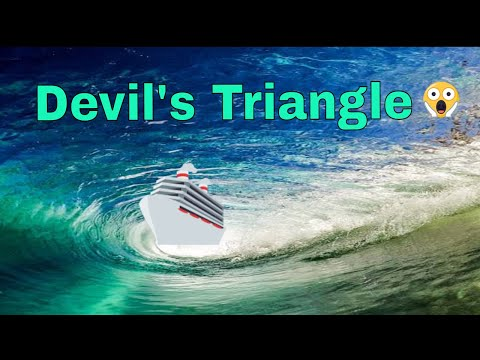 Bermuda Triangle known as Devil's Triangle