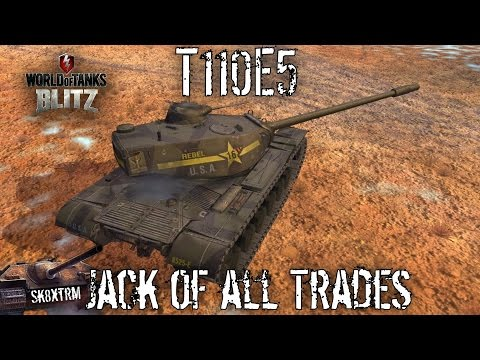 T110E5 - Jack Of All Trades - Wot Blitz