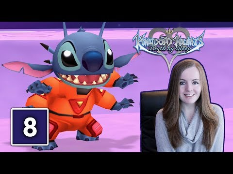 GANTU BOSS FIGHT | Kingdom Hearts Birth By Sleep Gameplay Walkthrough Part 8
