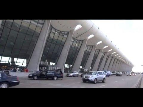Three minutes at Dulles International Airport, Washington, D.C.