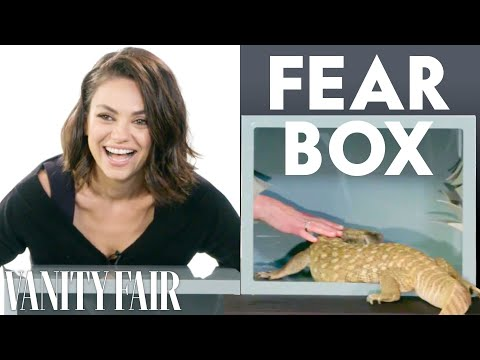 Mila Kunis, Kristen Bell, and Kathryn Hahn Touch a Millipede & Other Weird Stuff  Vanity Fair