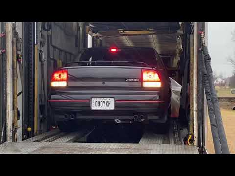Delivery Of My 1991 Cutlass Supreme International Sedan On February 4th 2020