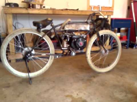 Motorized Worksman Board Track Racer