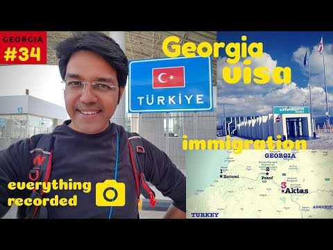 Turkey-Georgia Aktaş border: Crossing on foot | HORRIBLE EXPERIENCE